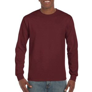 Ultra Cotton™ ADULT LONG SLEEVED T-SHIRT MAROON