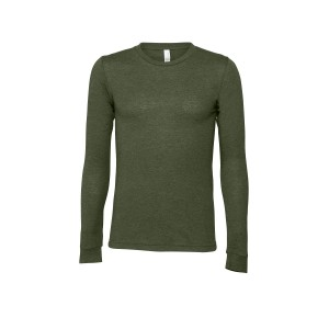 LONG SLEEVED T-SHIRT MILITARY GREEN
