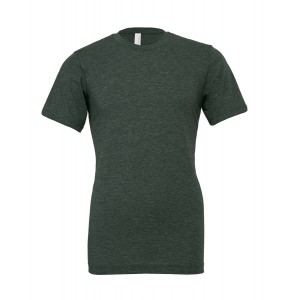 SHORT SLEEVED T-SHIRT HEATHER FOREST