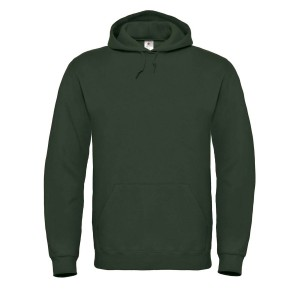 HOODED SWEATSHIRT FOREST GREEN